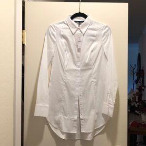 Tunic length blouse